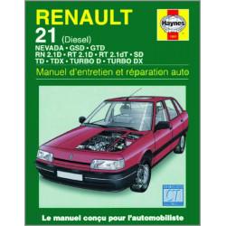 9781850109518 MANUEL ENTRETIEN ET RÉPARATION AUTO RENAULT 21