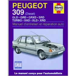 9781859600214 MANUEL ENTRETIEN ET RÉPARATION AUTO PEUGEOT 309