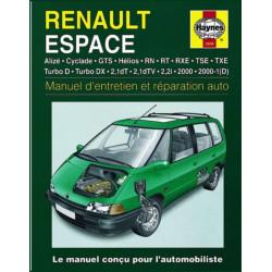 9781859602096 MANUEL ENTRETIEN ET REPTATION AUTO RENAULT ESPACE