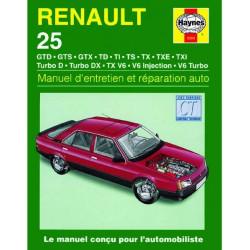 9781859602935 MANUEL ENTRETIEN ET RÉPARATION AUTO RENAULT 25