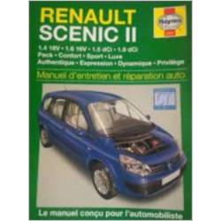 MANUEL ENTRETIEN ET RÉPARATION AUTO RENAULT SCENIC II Librairie Automobile SPE 9781844253678