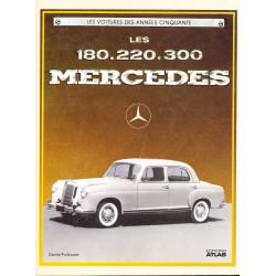 LES MERCEDES 180.220.300 Librairie Automobile SPE 2731204183