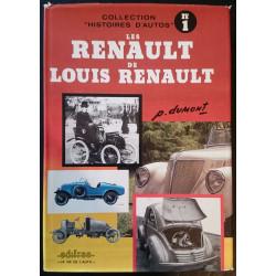 LES RENAULT DE LOUIS RENAULT PIERRE DUMONT N°1 Librairie Automobile SPE EDI1