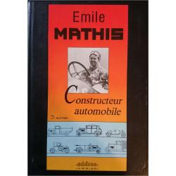 EMILE MATHIS CONSTRUCTEUR AUTOMOBILE JF BLATTNER N°7 Librairie Automobile SPE EDI7