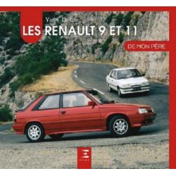 LES RENAULT 9 ET 11 DE MON PERE Librairie Automobile SPE 9791028301378