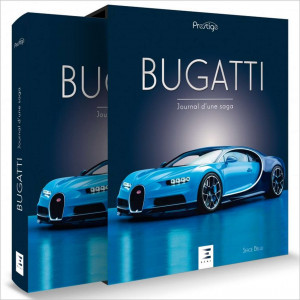 BUGATTI JOURNAL D'UNE SAGA Librairie Automobile SPE 9791028301163