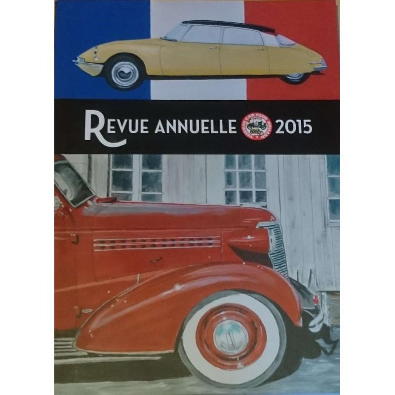REVUE ANNUELLE VCCSR 2015 Librairie Automobile SPE REVUE VCCSR 2015