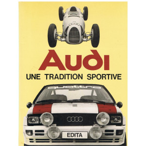 AUDI Une tradition sportive / Didier Merlin / Edition Edita-9782880011222