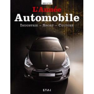 L'ANNÉE AUTOMOBILE N°59 2011-2012 Librairie Automobile SPE 9782726895801