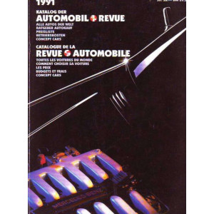 CATALOGUE DE LA REVUE AUTOMOBILE SUISSE 1991 Librairie Automobile SPE 3444005148