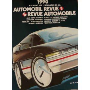 CATALOGUE DE LA REVUE AUTOMOBILE SUISSE 1990 Librairie Automobile SPE 3444004958