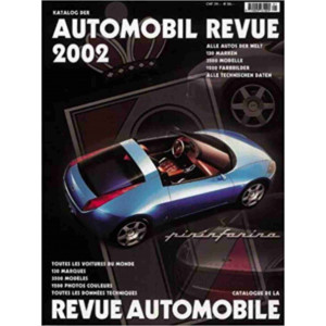 CATALOGUE DE LA REVUE AUTOMOBILE SUISSE 2002 Librairie Automobile SPE 390538602X