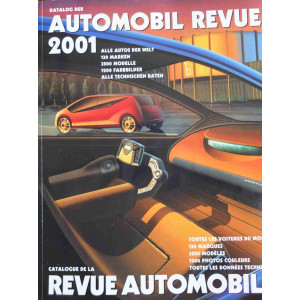 CATALOGUE DE LA REVUE AUTOMOBILE SUISSE 2001 Librairie Automobile SPE 3828304605