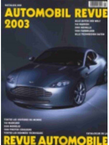 CATALOGUE DE LA REVUE AUTOMOBILE SUISSE 2003 Librairie Automobile SPE 3905386038