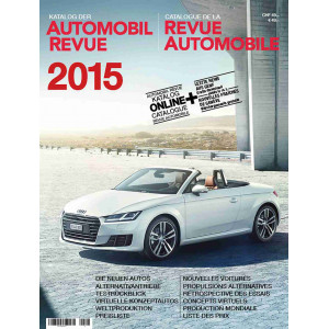 CATALOGUE DE LA REVUE AUTOMOBILE SUISSE 2015 Librairie Automobile SPE 9783613307926