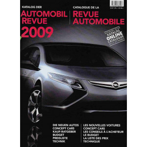 CATALOGUE DE LA REVUE AUTOMOBILE SUISSE 2009 Librairie Automobile SPE 9783905386097