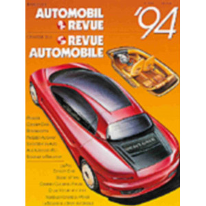 CATALOGUE DE LA REVUE AUTOMOBILE SUISSE 1994 Librairie Automobile SPE 3444005849