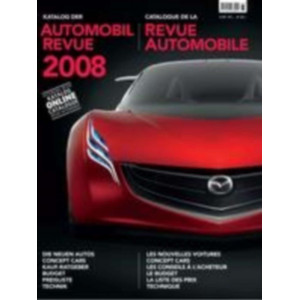 CATALOGUE DE LA REVUE AUTOMOBILE SUISSE 2008 Librairie Automobile SPE 9783905386080
