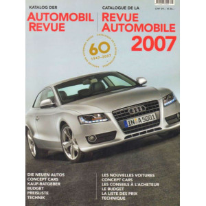 CATALOGUE DE LA REVUE AUTOMOBILE SUISSE 2007 Librairie Automobile SPE 9783905386073