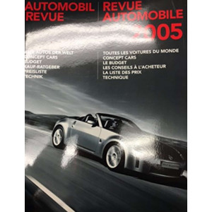 CATALOGUE DE LA REVUE AUTOMOBILE SUISSE 2005 Librairie Automobile SPE 3905386054