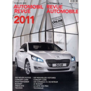 CATALOGUE DE LA REVUE AUTOMOBILE SUISSE 2011 Librairie Automobile SPE 9783905386110