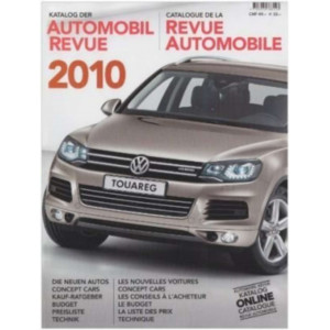 CATALOGUE DE LA REVUE AUTOMOBILE SUISSE 2010 Librairie Automobile SPE 9783905386103