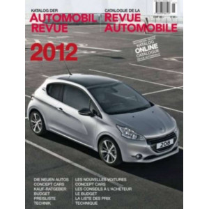 CATALOGUE DE LA REVUE AUTOMOBILE SUISSE 2012 Librairie Automobile SPE 9783905386127