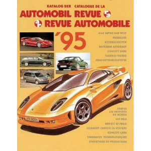 CATALOGUE DE LA REVUE AUTOMOBILE SUISSE 1995 Librairie Automobile SPE 3444104448