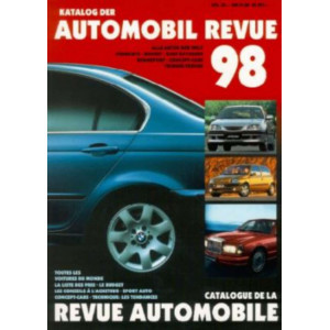 CATALOGUE DE LA REVUE AUTOMOBILE SUISSE 1998 Librairie Automobile SPE 3444105169
