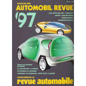 CATALOGUE DE LA REVUE AUTOMOBILE SUISSE 1997 Librairie Automobile SPE 3444104790
