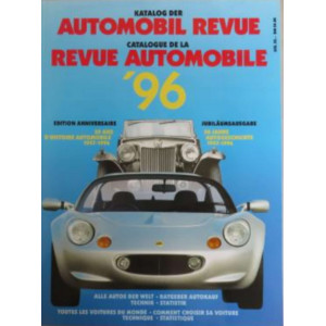 CATALOGUE DE LA REVUE AUTOMOBILE SUISSE 1996 Librairie Automobile SPE 3444104553