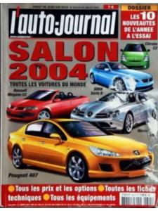 L'AUTO JOURNAL SALON 2004 Librairie Automobile SPE salon2004