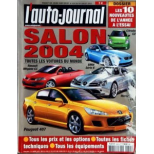 L'AUTO JOURNAL SALON 2004 Librairie Automobile SPE salon2004