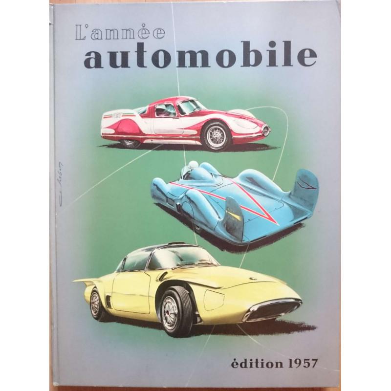 L'ANNÉE AUTOMOBILE N°4 (1956-1957) Librairie Automobile SPE Année Auto 1957