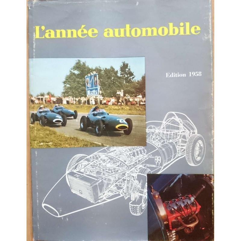 L'ANNÉE AUTOMOBILE N°5 (1957-1958) Librairie Automobile SPE Année Auto 1958-2