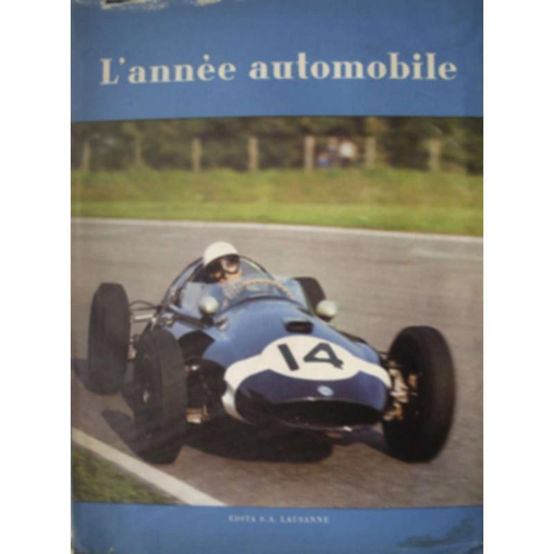 L'ANNÉE AUTOMOBILE N°7 (1959-1960) Librairie Automobile SPE Année Auto 1960