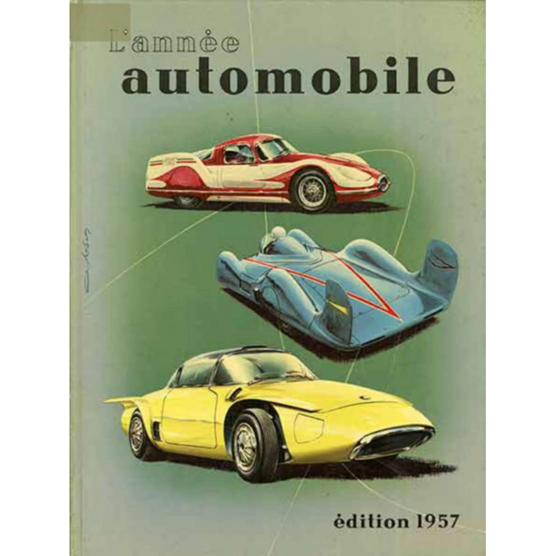 L'ANNÉE AUTOMOBILE N°4 (1956-1957 ) Librairie Automobile SPE Année Auto 1957-2