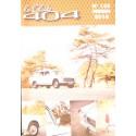 LE CLUB 404 LE MAGAZINE PEUGEOT N°122 Librairie Automobile SPE LE CLUB 404 N°122