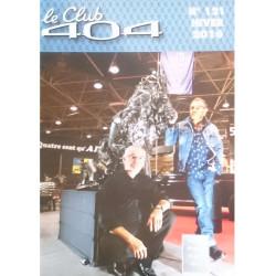 LE CLUB 404 LE MAGAZINE PEUGEOT N°121 Librairie Automobile SPE LE CLUB 404 N°121