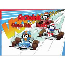"""Antoine le pilote """"Grand Prix de France"""" Librairie Automobile SPE 9782490416035"""