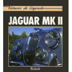 JAGUAR MK II Voiture de Légende / Wherrett Duncan / Edition ATLAS-9782731211016