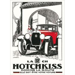 AFFICHE HOTCHKISS Par KOW