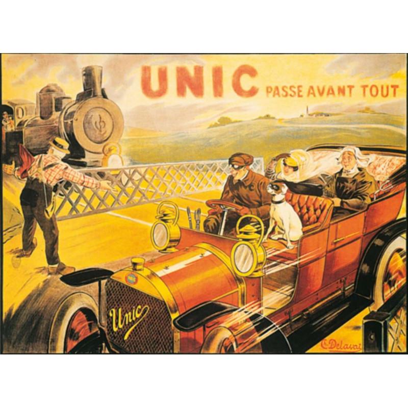 AFFICHE UNIC ( 78.50 X 62 cm ) Librairie Automobile SPE AFFICHE UNIC