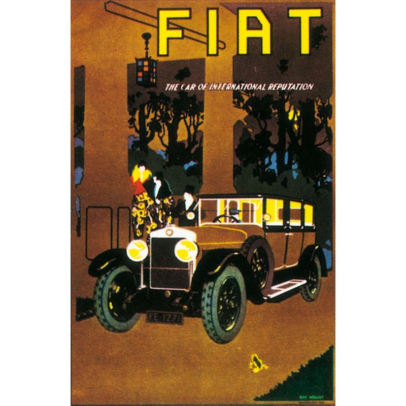 AFFICHE FIAT ( 43 x 64 cm ) Librairie Automobile SPE AFFICHE FIAT