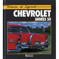 Chevrolet années 50 VOITURE DE LÉGENDE / ATLAS-9782731213201