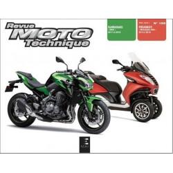 REVUE MOTO TECHNIQUE KAWASAKI Z900 2018 et 2019 - RMT 189 Librairie Automobile SPE 9791028306687-1