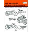 REVUE TECHNIQUE BSA NORTON TRIUMPH ARC105 Librairie Automobile SPE 9782726899434