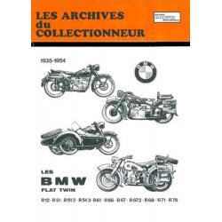 REVUE TECHNIQUE BMW FLAT-TWIN 1935-1954 ARC101 Librairie Automobile SPE 9782726899441