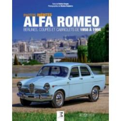 ALFA ROMEO, BERLINES, COUPÉS ET CABRIOLETS Librairie Automobile SPE 9791028303044