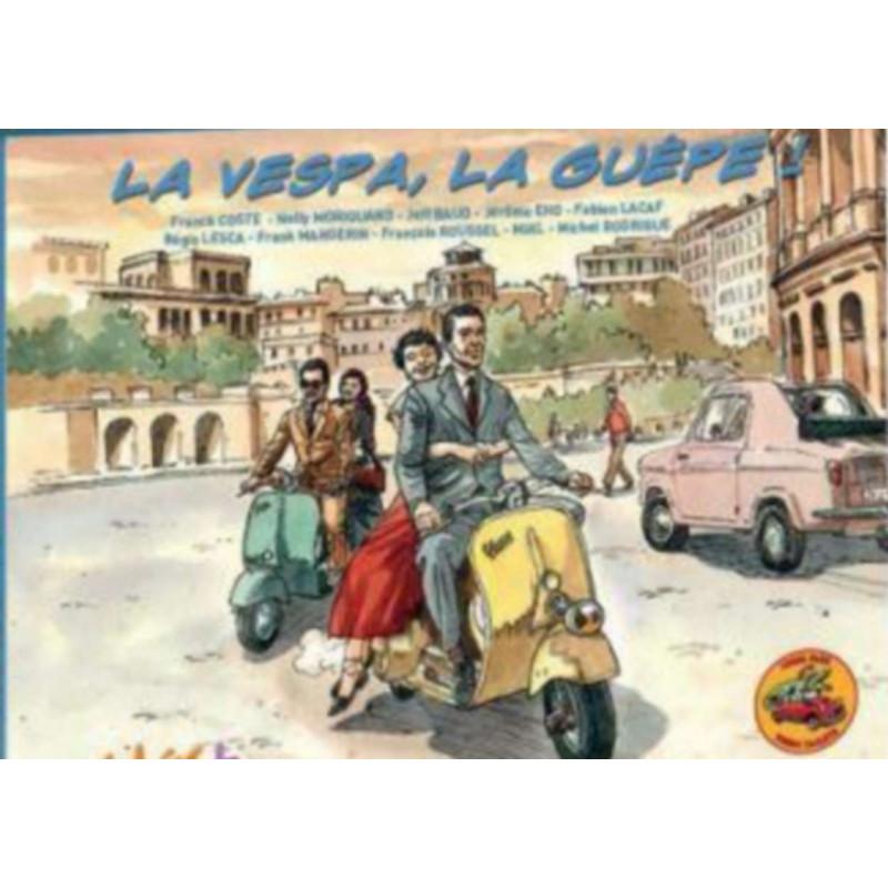 "La Vespa, ""la guêpe"" Librairie Automobile SPE 9782374700199"